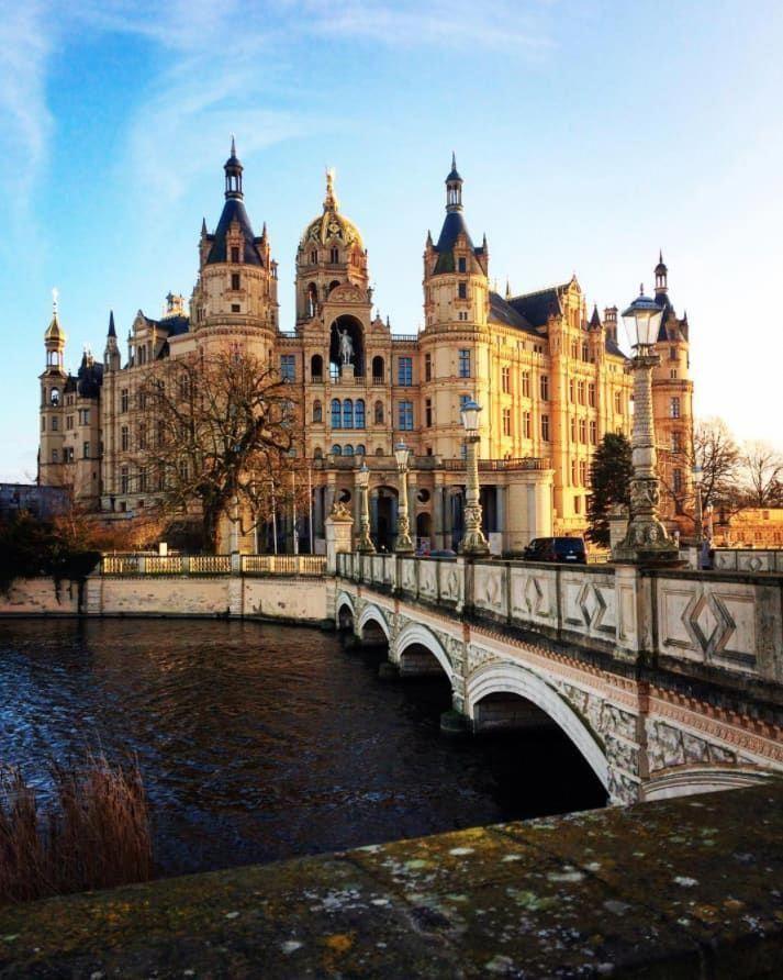Germany Schwerin Castle Schwerin Mecklenburg Vorpommern Schloss Historic Australia Travel Castle Trip Travel