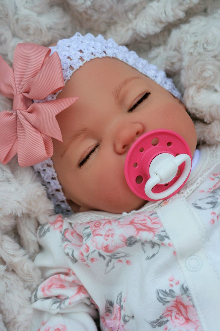 Hair accessories for babies ebay - Reborn Baby Girl 5lbs Magnetic Dummy Stunning Doll In Dolls Bears