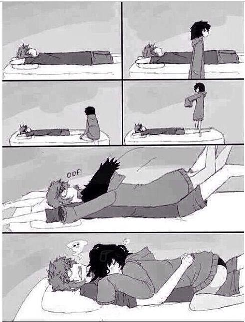 Best way to cuddle :3