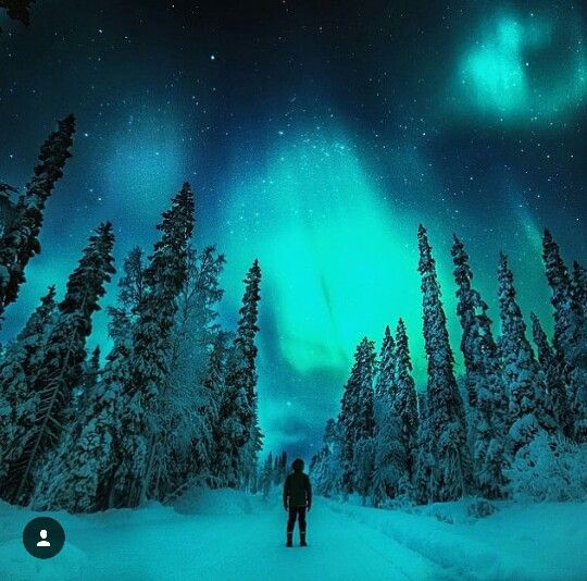Nothern lights, Finland ❄✨