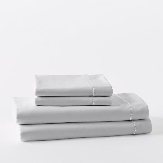 400-Thread-Count Organic Sateen Sheet Set
