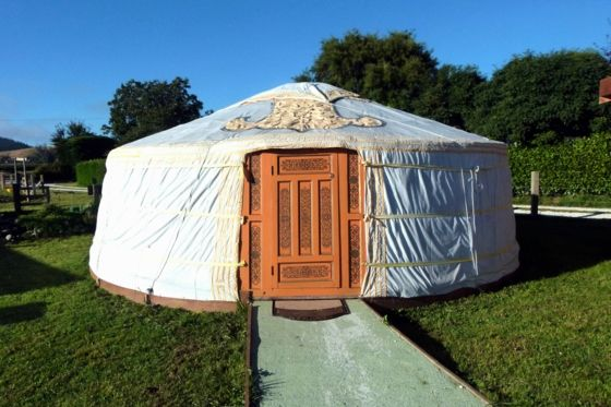Yurt / Ger - Wacky Stays - FREE entry to Farm Park in Kaikoura Township, Kaikoura District | Bookabach