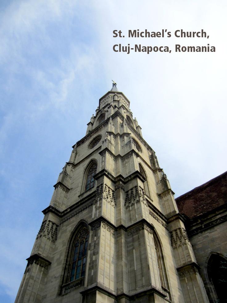 St. Michael's Church, Cluj-Napoca, Romania // #travel
