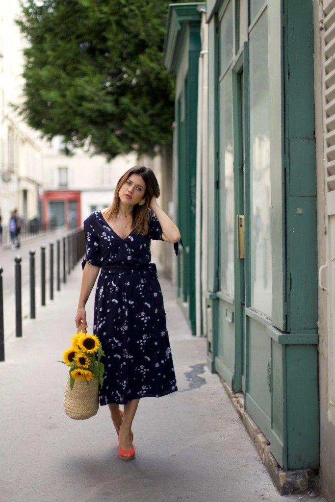 look robe longue à fleurs Showroom privé IRL - panier - L'atelier d'al blog fashion lifestyle Paris