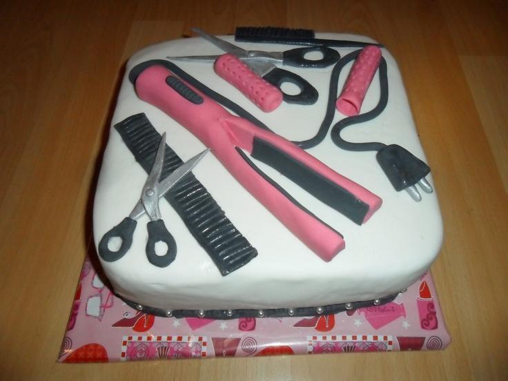 Hairdresser Cake Www Ibakeacake Nl