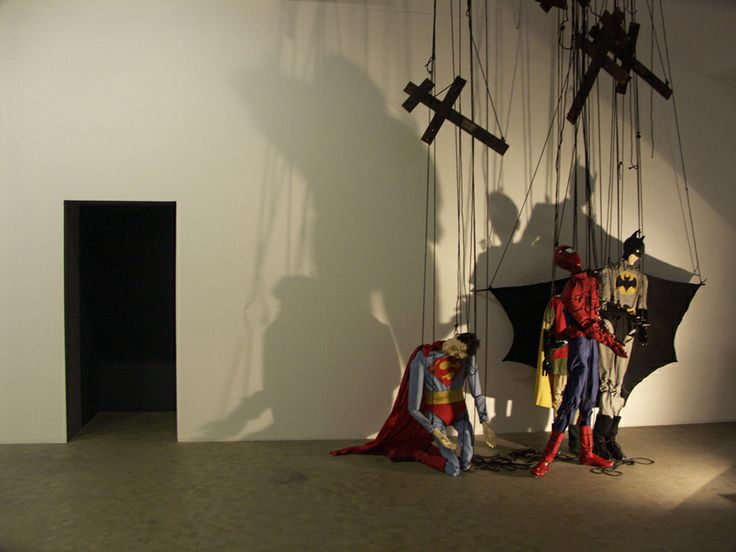 Adrian Tranquilli, These Imaginary Boys, 2006 (installation, détails)
