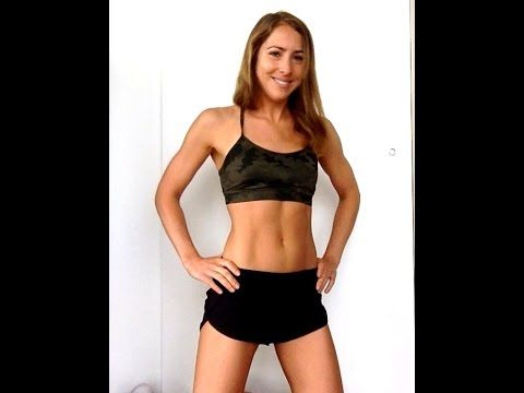▶ Fat Burning+Body Sculpting Home Workout (No equipment needed!) - YouTube