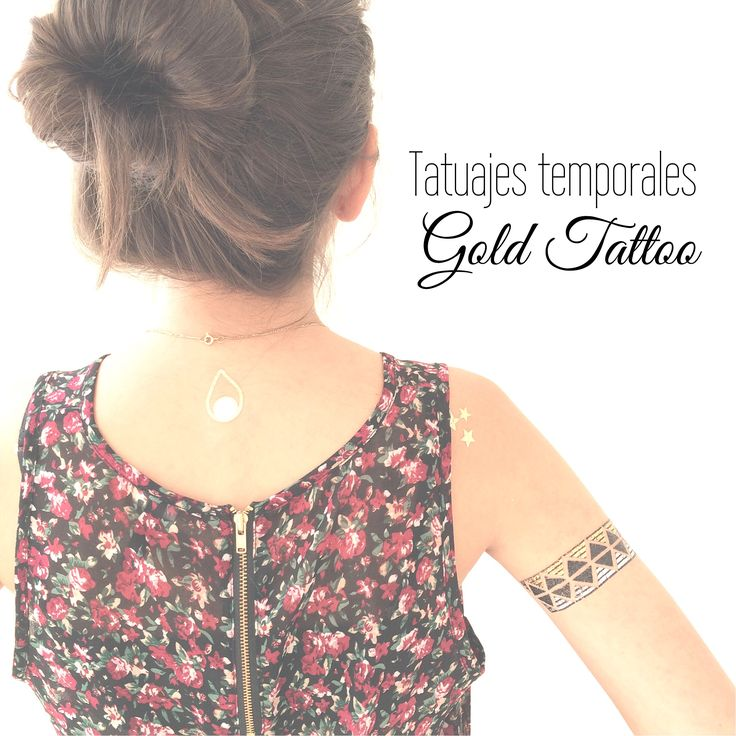 Tintoretta Gold Tattoo