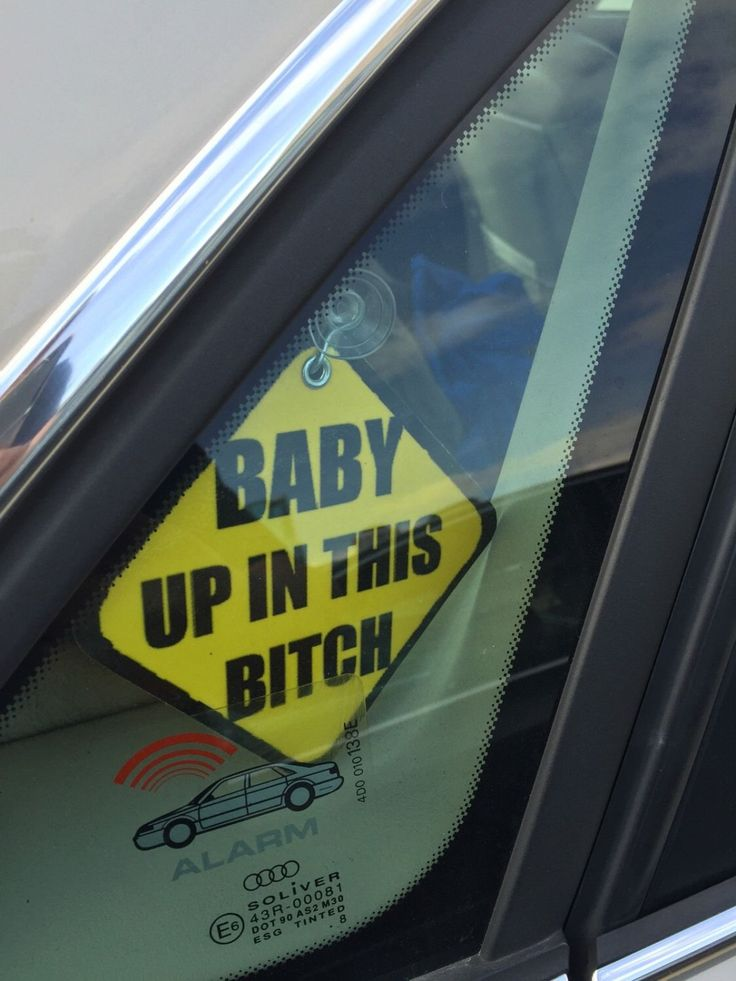 Baby Up In This Bitch Suction Sign On Board - Birth Announcement Shower Gift by FreshnessProject on Etsy https://www.etsy.com/listing/252627466/baby-up-in-this-bitch-suction-sign-on