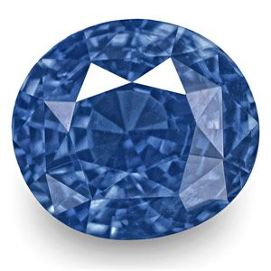 1.60-Carat Fine VVS Velvety Cornflower Blue Kashmir Sapphire
