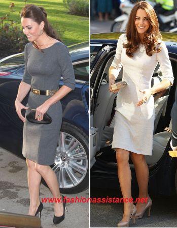 Kate Middleton, un mismo vestido, dos colores diferentes. Dinos tu preferido