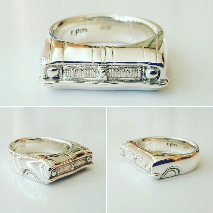 HG Holden Grille ring. Solid sterling silver.  Made in Australia by Karen Ryder owner and designer RPM Jewellery