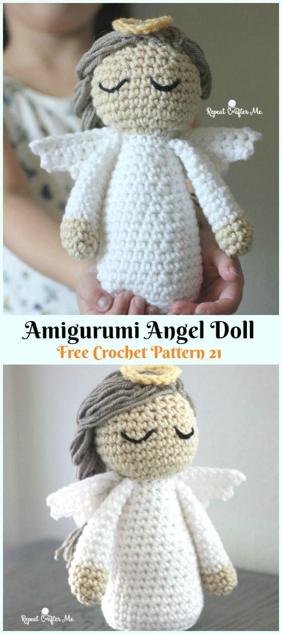 Crochet Angel Free Patterns & Tutorials