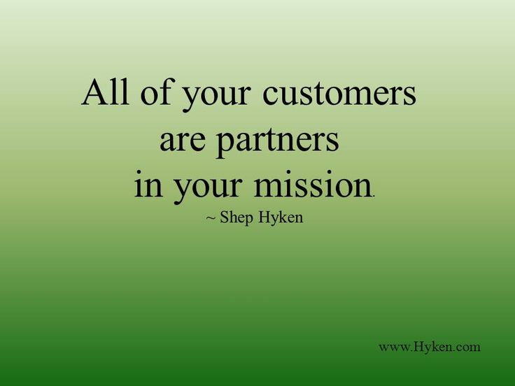 business  customer service quote
