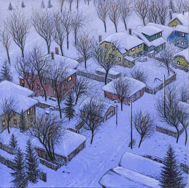 Wilf Perreault, 'Christmas Eve' at Mayberry Fine Art
