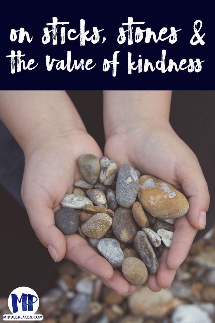 Sticks, Stones and the Value of Kindness Massage therapy