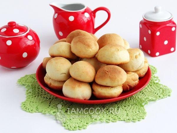 Печенье на сметане без масла и маргарина