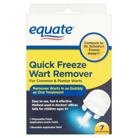 Equate Quick Freeze Wart Remover 7 Applications