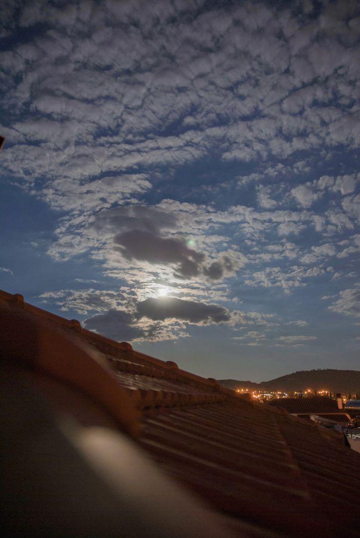 Full Moon at Volos, Greece photoshoot: antria eustathiou
