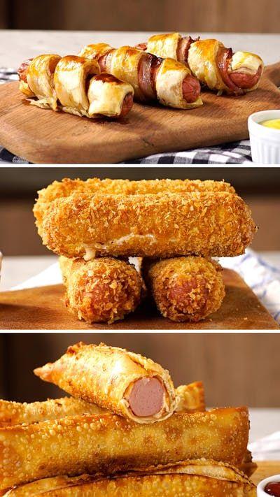 Aprenda a fazer essas 3 receitas de enroladinho de salsicha e faça hoje mesmo de lanche da tarde!