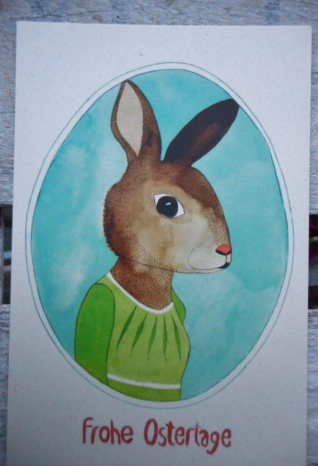 "Postcard von ""Frau Ottilie"""