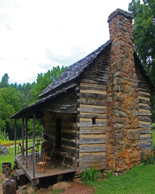 old cabins in the mountains | Old Mountain Cabin