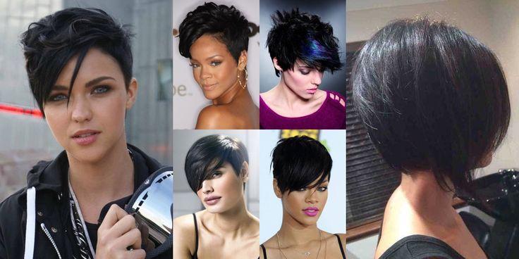 Capelli neri: come ravvivarli con riflessi, shatush, meches ed altre metodologie per attenuare il contrasto dei capelli neri con alcuni colori di carnagione