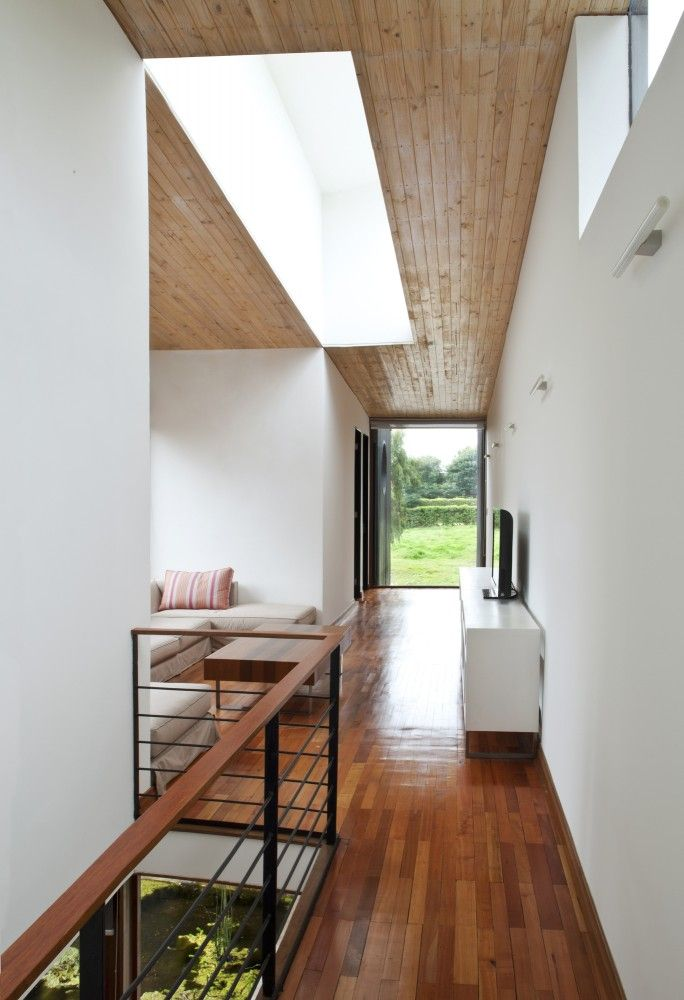 stairs of Small modern contemporary house designs