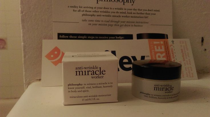 Try this FABULOUS product free from smiley360! Save 25% on philosophy skincare products using promo code coolaging on the philosophy website until November 14, 2016