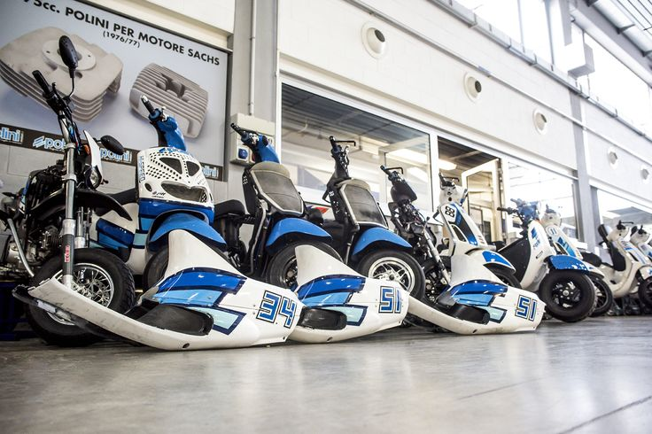 Into the garage    nicola zappettini #polini #madeinitaly #tuning #scooter #garage #box #white #blue #stickers #engine #moto #motorbike #work #friday #today #rest #series #collection #set