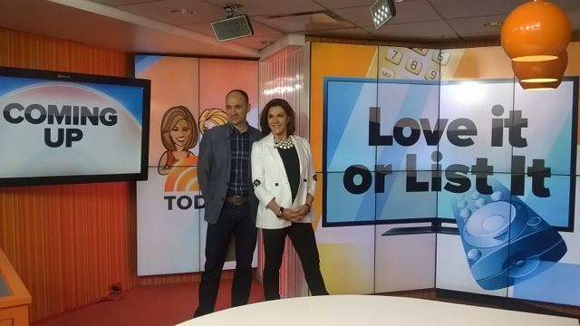Behind the scenes at the Today Show!