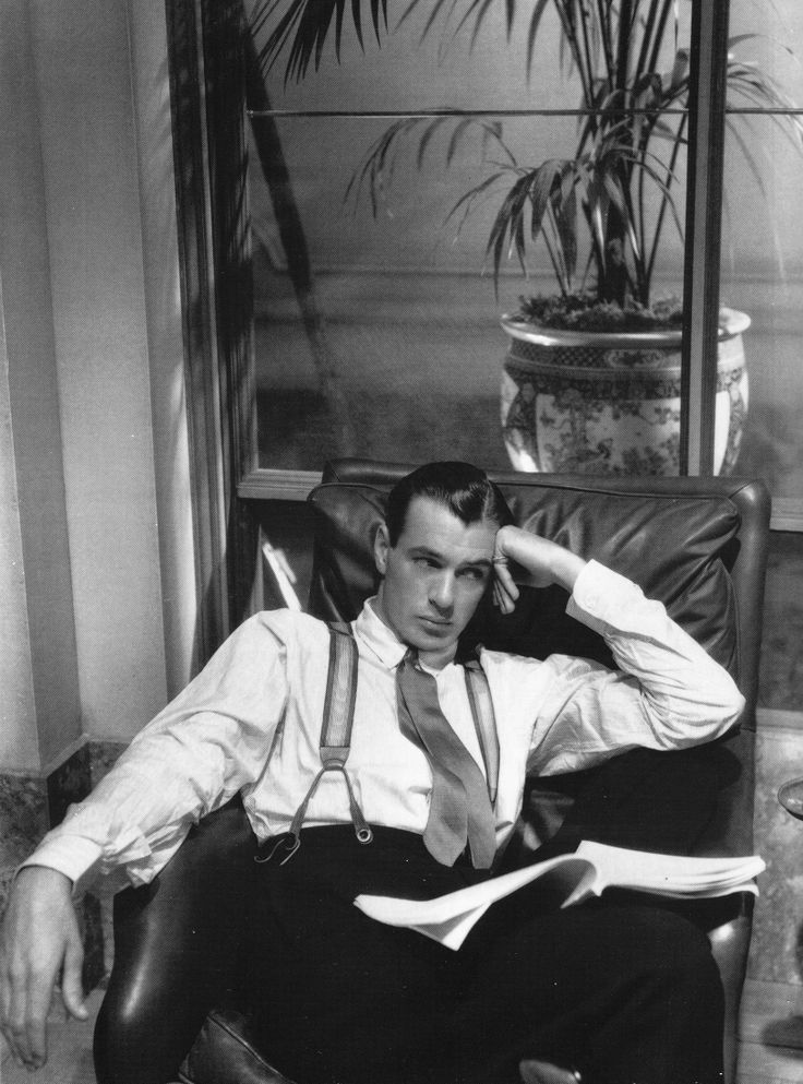 So old school it hurts..... Gary Cooper