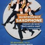 Călătorie muzicală cu Quintessence Saxophone Quintet