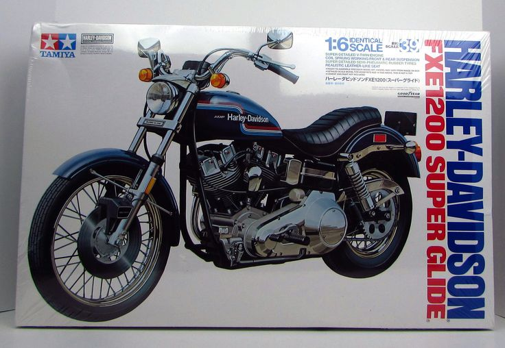 Harley-Davidson FXE1200 Super Glide Tamiya #16039 1/6 New Motorcycle Model Kit