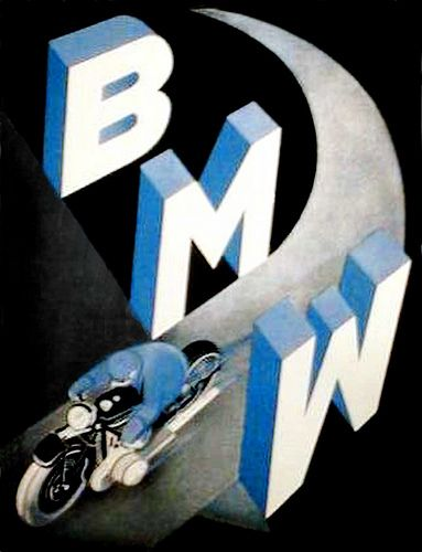 bmw motorcycle poster - Google Search