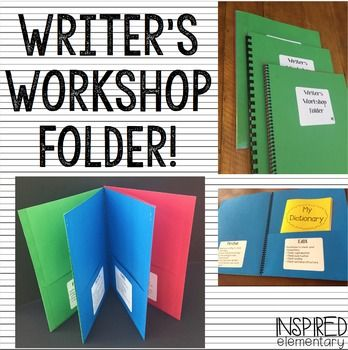 Writer's Workshop Folders are a tool that I will never teach writing without again! These folders not only help teach students about the writing process, but they allow them to get excited and take pride in their writing as an author! Writer's Workshop Folders are ideal for