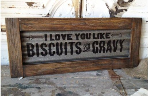 Our southern charm sign is a metal and wood sign that reads