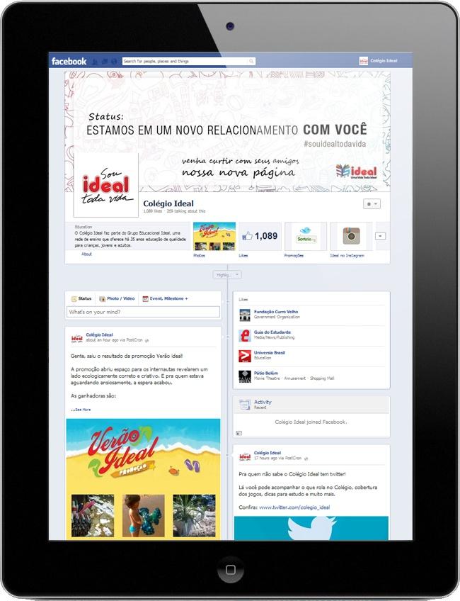Identidade Visual e Gerenciamento de Mídias Sociais no Facebook