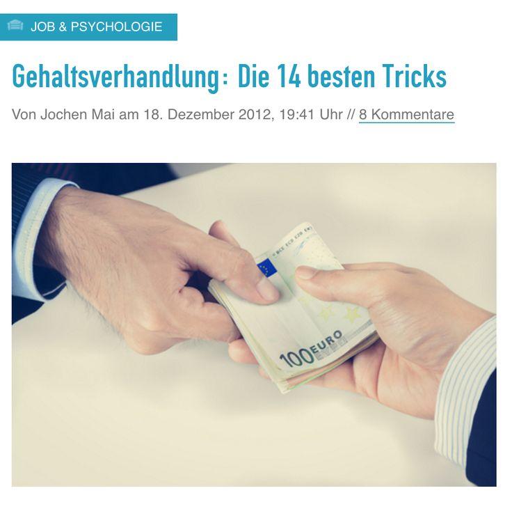 Gehaltsverhandlung: Die 14 besten Tricks