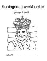 Sinds prins Willem-Alexander, Koning Willem-Alexander is geworden en de koningsspelen hun intrede hebben gedaan, is er op basisscholen veel meer aandacht voor Koningsdag. Daarom heb ik voor deze 'nieuwe' feestdag ook werkboekjes gemaakt.