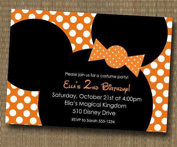Best 20 Halloween birthday party invitations ideas on Pinterest