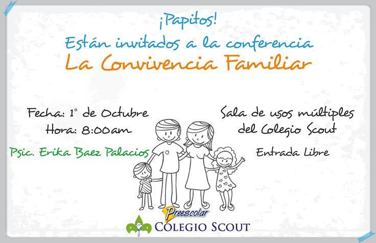 Escuela para padres  Convivencia Familiar