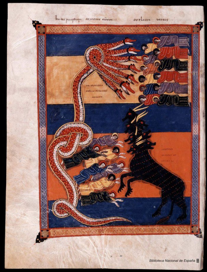 """The """"Beatus"""" Manuscripts - Beato de Liébana in medieval manuscripts"""
