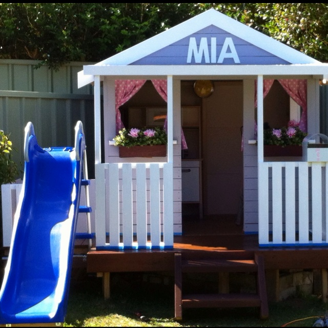 bunnings how to build a cubby house
