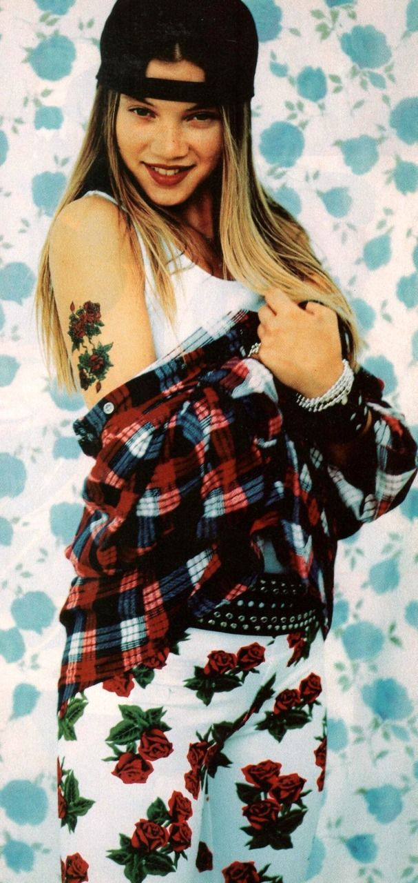 Amy Smart in 1994 (I had those pants, they were by Bongo, this is the greatest picture ever)