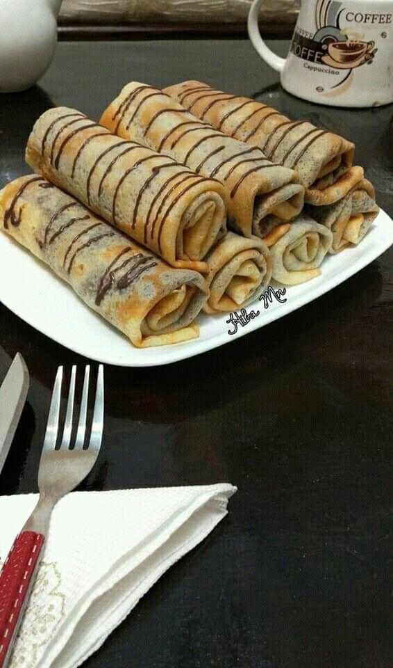 Pin By Rim Rim On كراب Food Breakfast Waffles