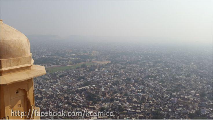 Jaipur City skyline from Nahargarh Fort, Jaipur- Rajathan (India)