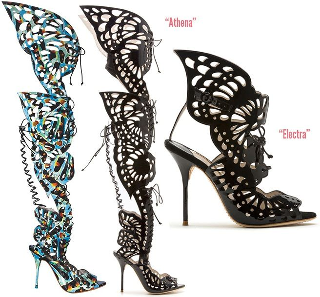 Sophia-Webster-Athena-butterfly-sandal-boot-Electra-Spring-2014 !!SO MY STYLE!!