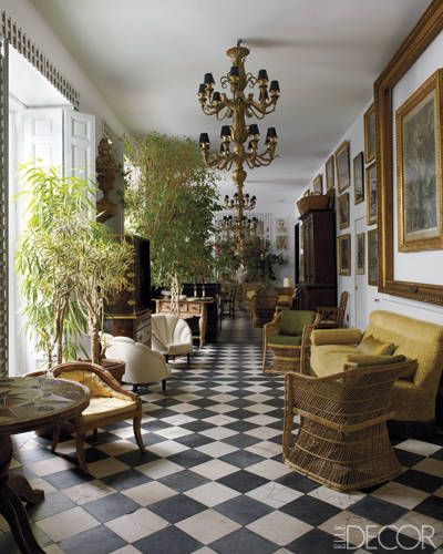 lorenzo castillo�s madrid home elle decor home pinterest