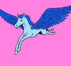 Risultati immagini per disegno cavallo alato